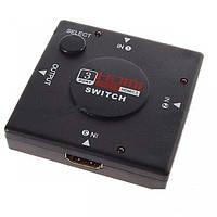 3х портовый Hdmi Switch свич свитч переключатель