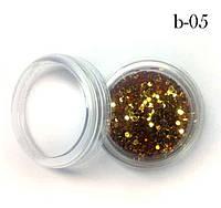 Украшение для дизайна ногтей Брокард пластик №5