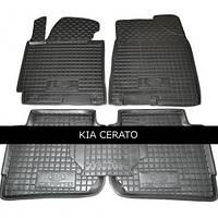 Коврики резиновые модельные Kia Cerato 13- (5шт) Avto-Gumm (11198)