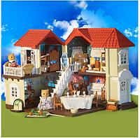 Уютный домик с полным комплектом мебели Happy family 012-01