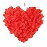 Пелюстки троянд штучні ЧЕРВОНІ, фото 3