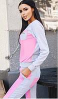 Спортивный костюм женский Монтана розовый , спортивная одежда