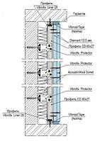 Звукоизоляция стен система Knauf W623-1 Diamant