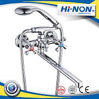 Смеситель для ванны двурукий Hi-NON SCB-596