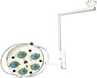 Светильник операционный L735-II-пятирефлекторный потолочный