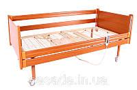 Кровать деревянная медицинская функциональная четырехсекционная с электроприводом OSD-91E