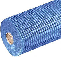 Сетка фасадная FIBERGLASS 160 синяя