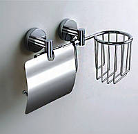 Держатель туалетной бумаги + держ. освеж. воздуха