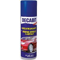 Очиститель смолы битума Decabit 250мл спрей ATAS
