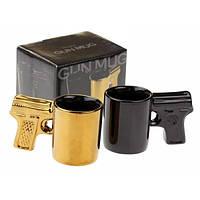 Набор мини чашек Пистолет, 2 шт.