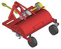 Мульчувач лісний колісний МЛК-1,5