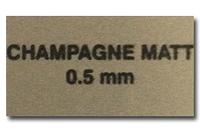 Металл для сублимации - золото мат (шампань)