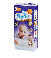 Подгузники Dada Premium 3 midi (4-9 кг) 60шт