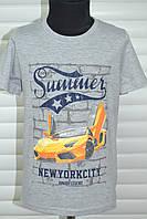 Трикотажные футболки для мальчиков,Размеры 3-8,Фирма S&D.Венгрия