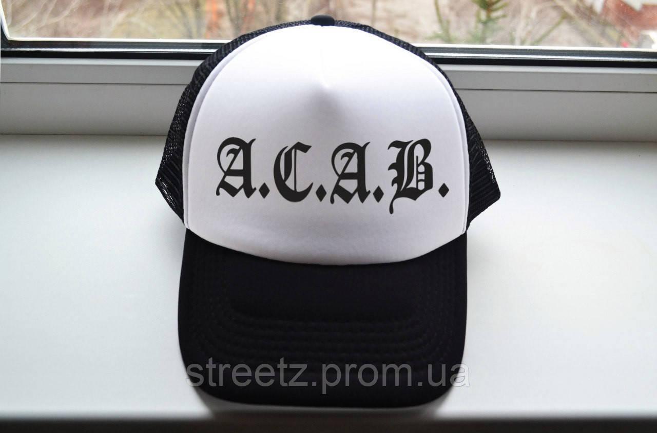 Кепка тракер ACAB