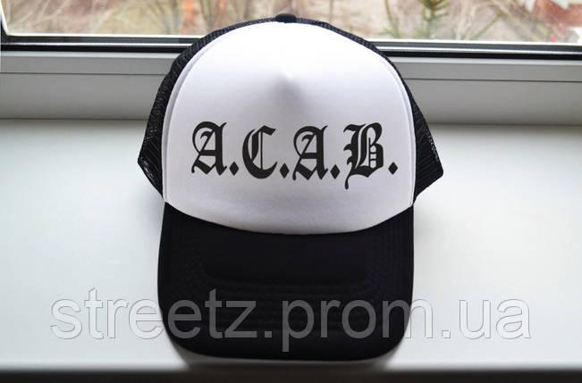 Кепка тракер ACAB, фото 2