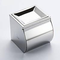 Металлический держатель туалетной бумаги