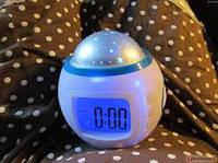 Часы музыкальные - проектор звездного неба «Music And Starry Sky Fashionable Calendar