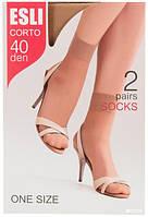 Капроновые носки  ESLI Corto 40 den (2пары в коробке)