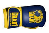 """Боксерские перчатки """"Grand"""" кожа-8 oz"""