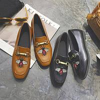 Туфли лоферы Gucci .Реплика
