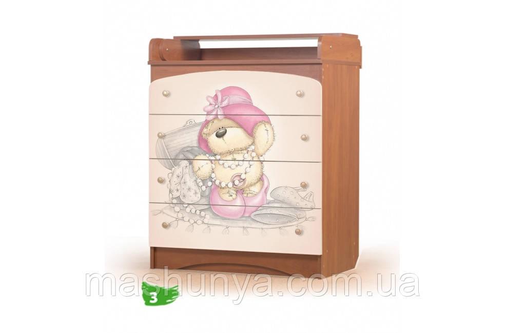 Детский пеленальный комод Мишель Вальтер из ДСП 80*47*90 см