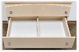 Детский пеленальный комод Мишель Вальтер из ДСП 80*47*90 см, фото 6