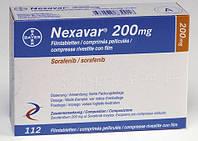 Нексавар табл. п/о 200 мг №112,, Bayer Pharma, Германия
