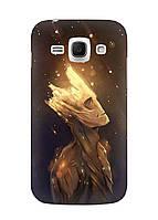 Чехол Samsung Ace 3 GT-S7270 - Дерево из фильма с прикольным енотом