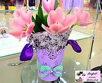 Цветы в  нетрадиционной упаковке
