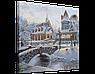 Набор для вышивания бисером FLF-115 Зимняя сказка-2 40*50 Волшебная страна качественный , фото 2