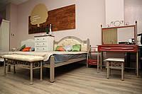 Кровать Рона 160*200(капучино) (кз карамель лайт)