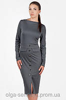 Стильное платье-футляр украинского производителя