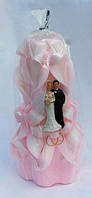 Резная свадебная свеча С004