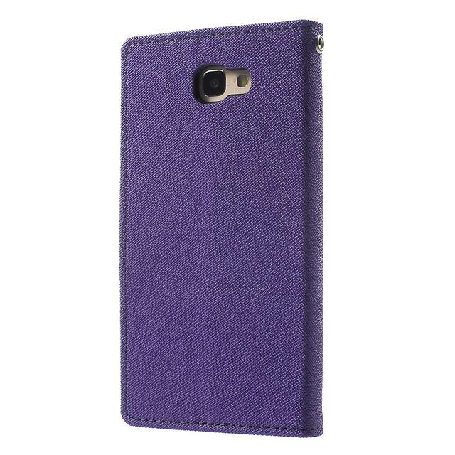 чехол книжка на Samsung Galaxy J5 Prime G570 / On5 2016 Mercury GOOSPERY fancy diary фиолетовый