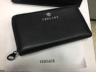 Кожаный кошелёк Versace