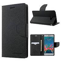 Чехол книжка для Samsung Galaxy J5 Prime G570 / On5 2016 боковой, Mercury GOOSPERY, черный