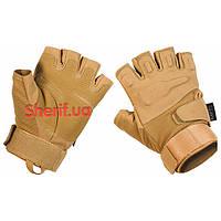 Перчатки тактические  без пальцев Protect Coyote Max Fuchs 15553R