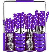 Набор столовых приборов Peterhof PH-22108 B фиолетовый