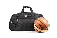 Спортивная черная мужская сумка Everlast black, фото 1