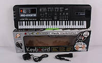 Синтезатор пианино детский от сети с микрофоном MQ-010FM