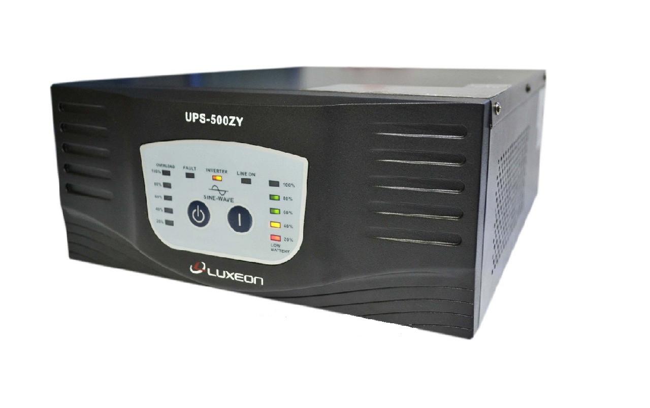 Джерело безперебійного живлення ДБЖ для котла Luxeon UPS-500ZY синусоїда