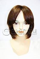 Парик из натуральных волос с имитацией кожи головы