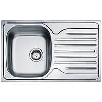 Кухонная мойка из нержавеющей стали Franke Polar PXL 611-78, декор