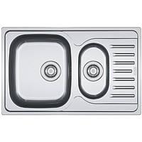Кухонная мойка из нержавеющей стали Franke Polar PXL 651-78, декор