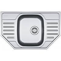 Кухонная мойка из нержавеющей стали Franke Polar PXL 612-E, декор