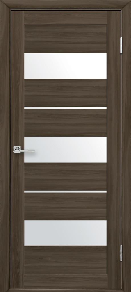 Межкомнатные двери Новый Стиль Лилу стекло белый сатин