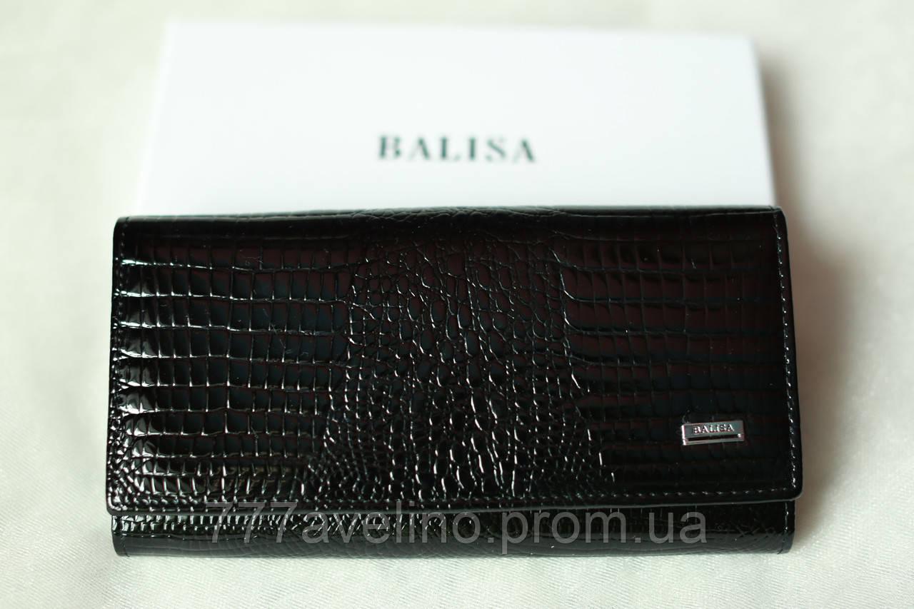 Кошелек женский  кожаный Balisa черный