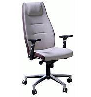 Кресло Элеганс HB Papermoon-056 (бежевый) кант Неаполь-32 (коричневый)