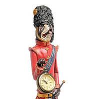 """Декоративная статуэтка с часами """"Собака Уолш"""" NS-181"""